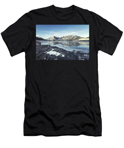 Beneath The Frozen Sky Men's T-Shirt (Athletic Fit)