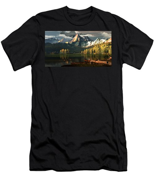 Beneath The Gilded Crowns Men's T-Shirt (Athletic Fit)