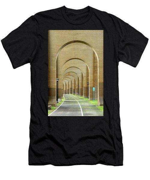 Beneath The Hellgate Men's T-Shirt (Athletic Fit)