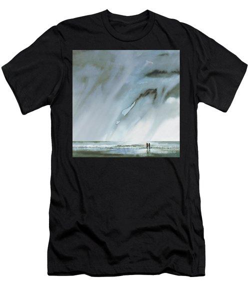 Beneath Turbulent Skies Men's T-Shirt (Athletic Fit)