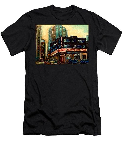 Bens Restaurant Deli Men's T-Shirt (Athletic Fit)