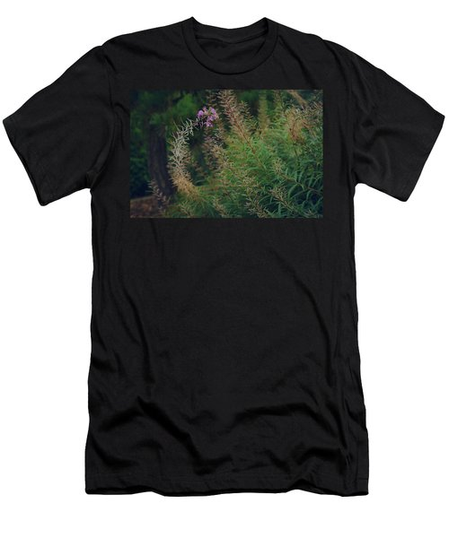 Men's T-Shirt (Athletic Fit) featuring the photograph Bent  by Gene Garnace