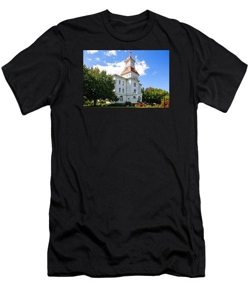 benton County Courthouse Men's T-Shirt (Athletic Fit)
