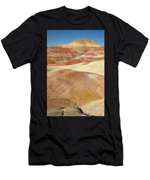 Bentonite Hills  Capitol Reef N P Men's T-Shirt (Athletic Fit)