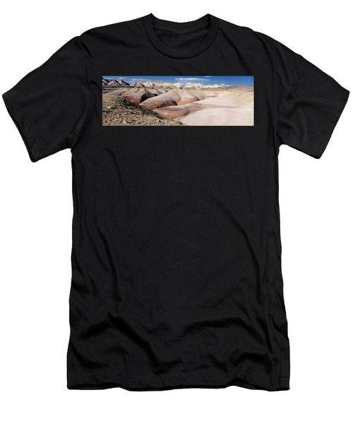 Bentonite Mounds Men's T-Shirt (Athletic Fit)