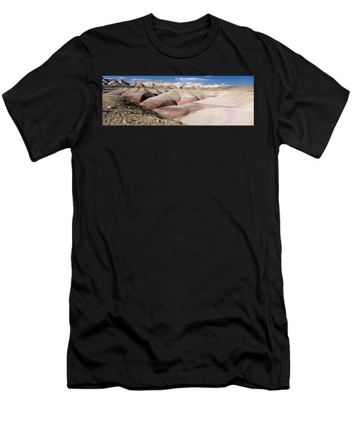 Bentonite Mounds Men's T-Shirt (Athletic Fit)