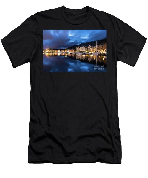 Bergen Harbor Men's T-Shirt (Athletic Fit)