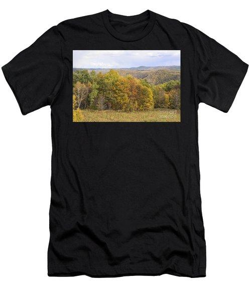 Berkshires In Autumn Men's T-Shirt (Athletic Fit)