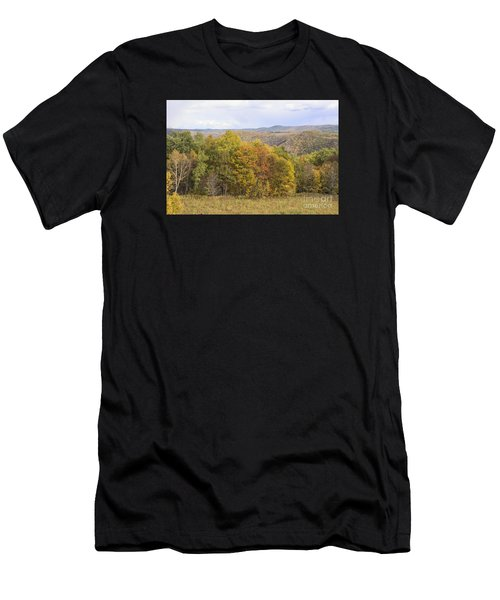 Berkshires In Autumn Men's T-Shirt (Athletic Fit)