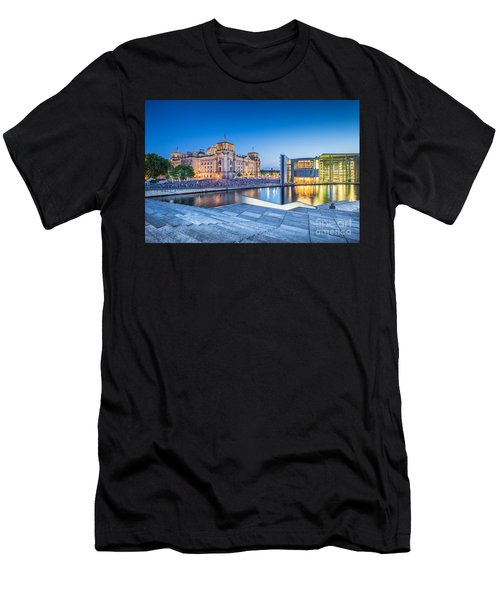 Berlin Government District Men's T-Shirt (Athletic Fit)