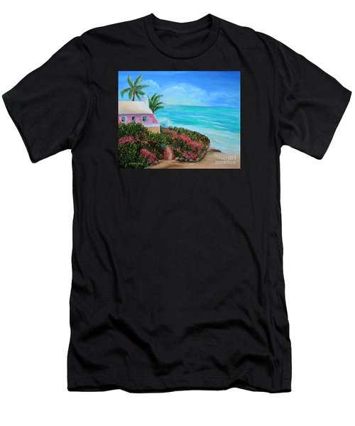 Bermuda Bliss Men's T-Shirt (Athletic Fit)