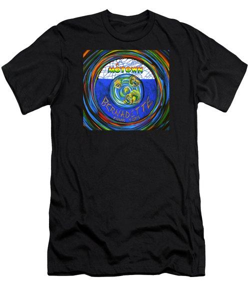Bernadette By Four Tops Men's T-Shirt (Slim Fit) by Jeanette Jarmon