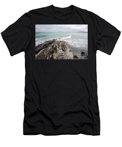 Berneray Views Men's T-Shirt (Athletic Fit)