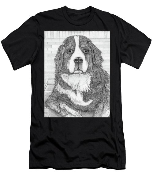 Bernese Mountain Dog  Men's T-Shirt (Athletic Fit)