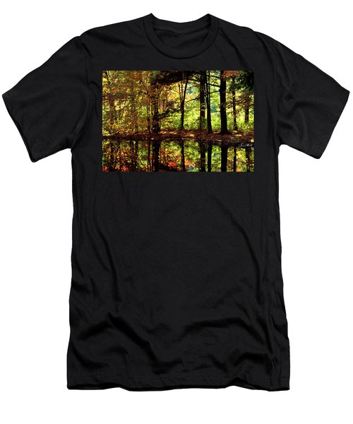 Bernharts Dam Fall 006 Men's T-Shirt (Athletic Fit)