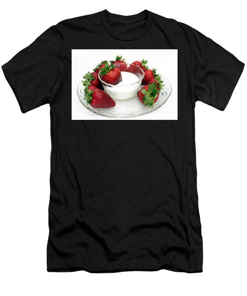 Berries And Cream Men's T-Shirt (Athletic Fit)