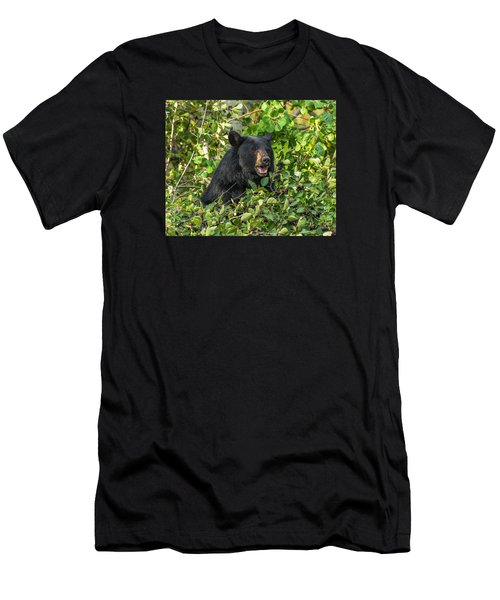 Men's T-Shirt (Slim Fit) featuring the photograph Berry Good by Yeates Photography