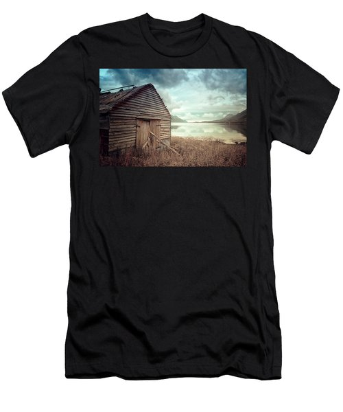 Beside The Lake Men's T-Shirt (Athletic Fit)
