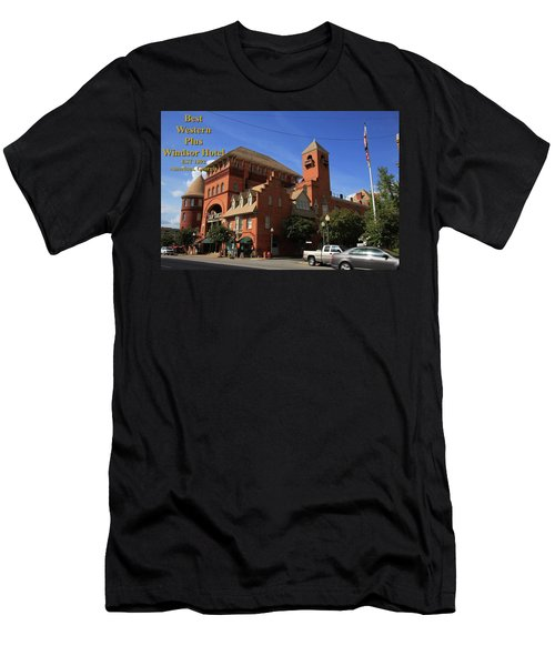 Best Western Plus Windsor Hotel -2 Men's T-Shirt (Athletic Fit)