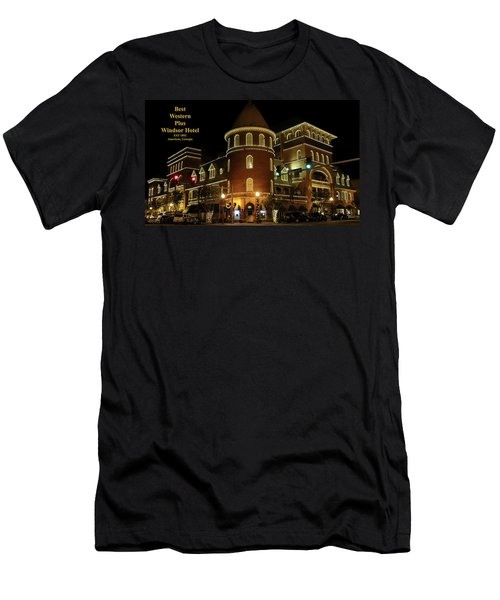 Best Western Plus Windsor Hotel - Christmas Men's T-Shirt (Athletic Fit)