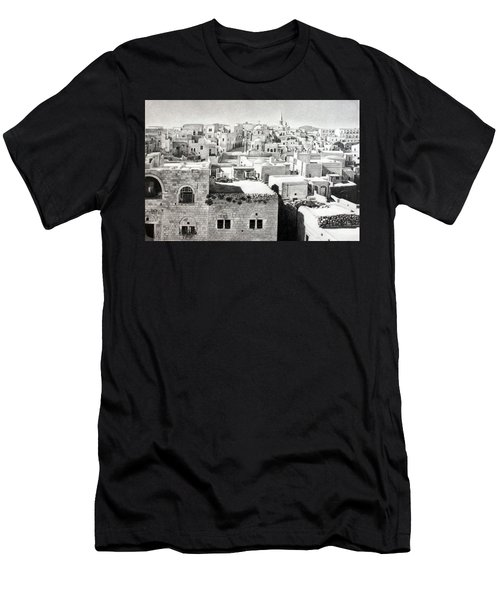 Bethlehem Old Town Men's T-Shirt (Athletic Fit)