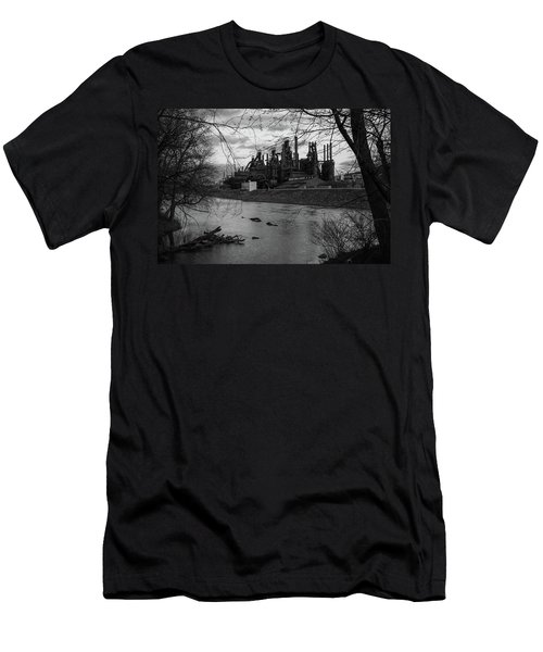 Bethlehem Steel Bw Men's T-Shirt (Athletic Fit)