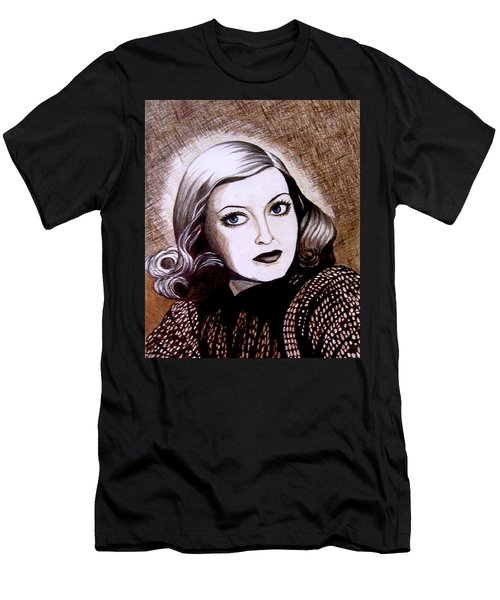 Bette Davis 1941 Men's T-Shirt (Slim Fit) by Tara Hutton