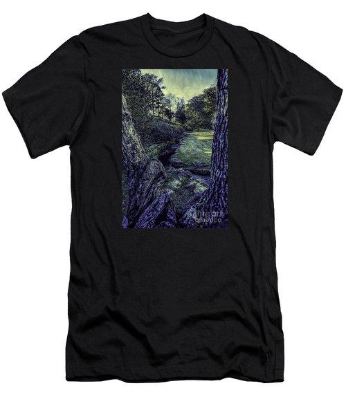 Between The Branches Men's T-Shirt (Slim Fit) by Ken Frischkorn