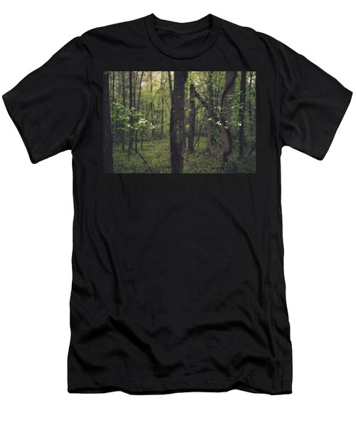 Between The Dogwoods Men's T-Shirt (Athletic Fit)