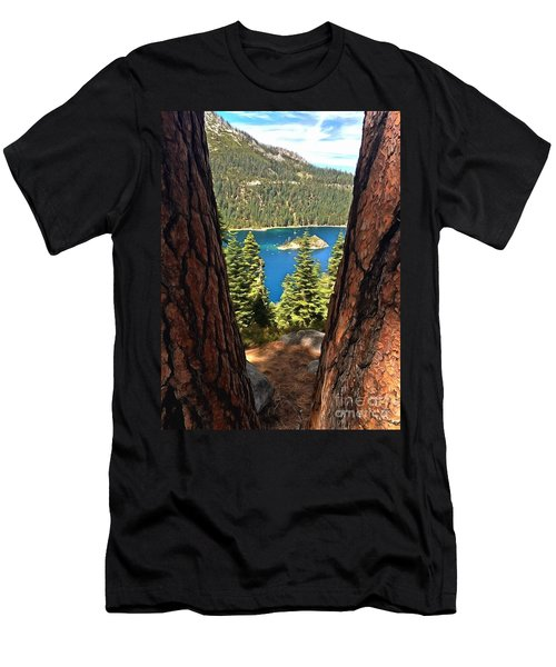 Between The Pines Men's T-Shirt (Athletic Fit)