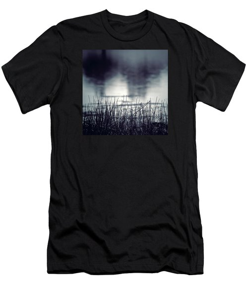 Men's T-Shirt (Slim Fit) featuring the photograph Between The Waters by Trish Mistric