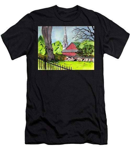 Beverly First Baptist Church Men's T-Shirt (Slim Fit) by Paul Meinerth