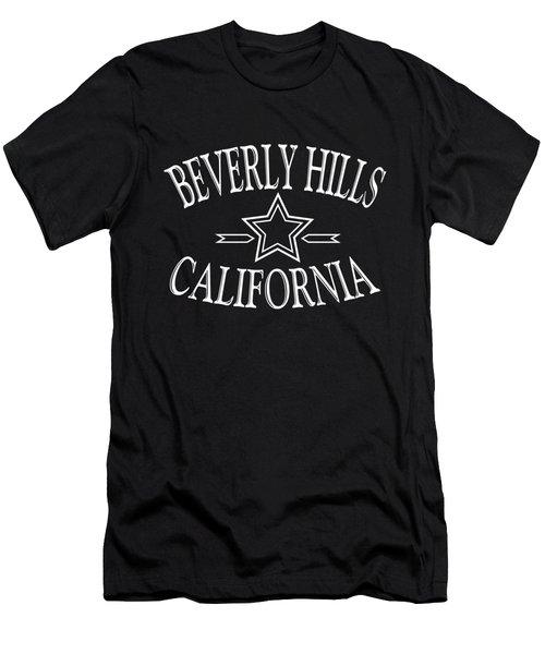Beverly Hills California Design Men's T-Shirt (Athletic Fit)