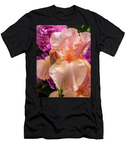 Beverly Sills Iris Men's T-Shirt (Athletic Fit)
