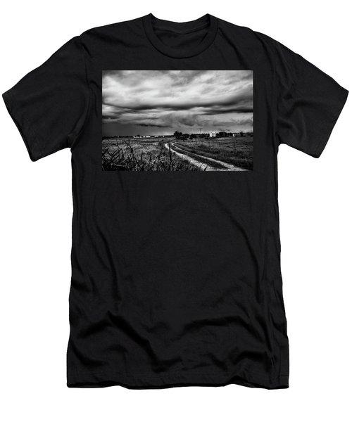 Beware The Storm Men's T-Shirt (Athletic Fit)