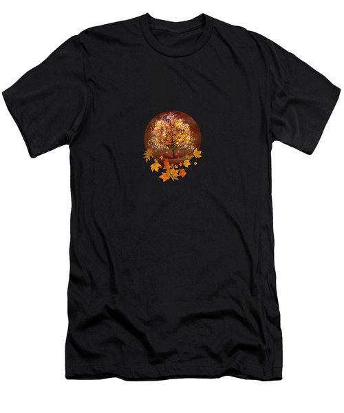 Starry Tree Men's T-Shirt (Athletic Fit)
