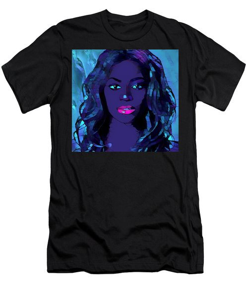 Beyonce Graphic Abstract Men's T-Shirt (Slim Fit) by Dan Sproul