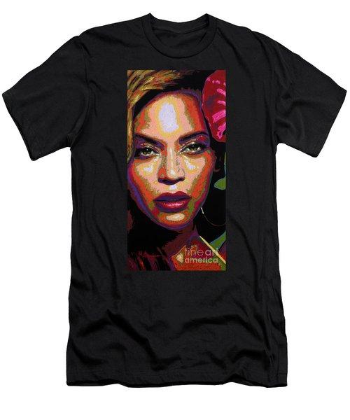 Beyonce Men's T-Shirt (Slim Fit) by Maria Arango