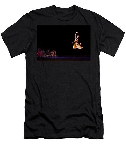 Bharatanatyam Men's T-Shirt (Athletic Fit)