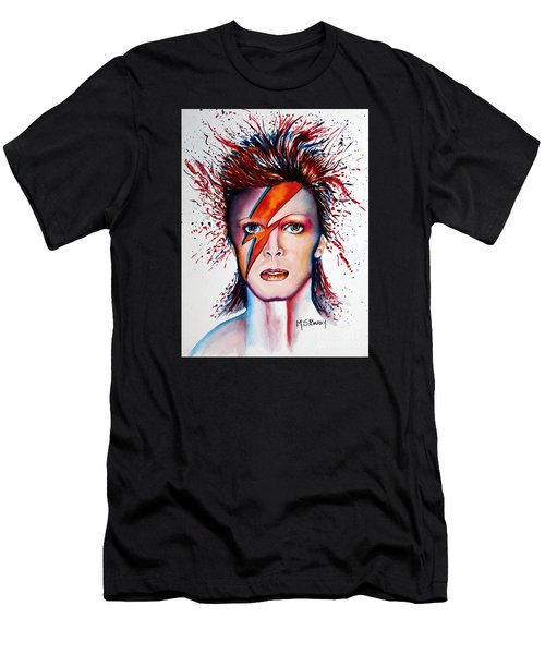 Bi Bi Bowie Men's T-Shirt (Athletic Fit)