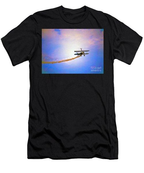 Bi-plane And Wing Walker Men's T-Shirt (Athletic Fit)