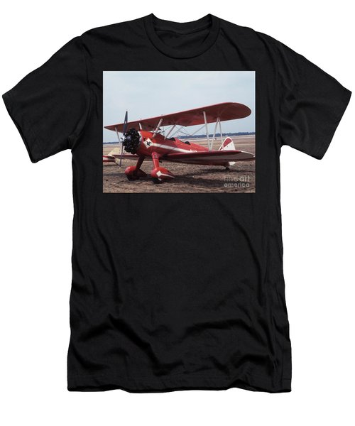 Men's T-Shirt (Athletic Fit) featuring the photograph Bi-wing-1 by Donald Paczynski