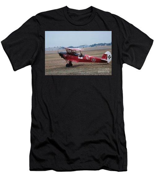 Bi-wing-2 Men's T-Shirt (Athletic Fit)