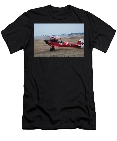 Men's T-Shirt (Athletic Fit) featuring the photograph Bi-wing-7 by Donald Paczynski