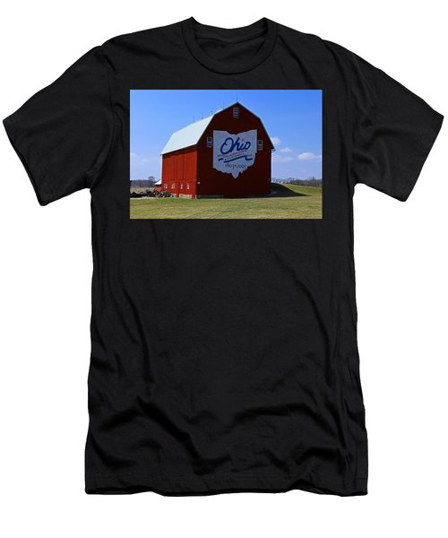 Bicentennial Barn  Men's T-Shirt (Athletic Fit)