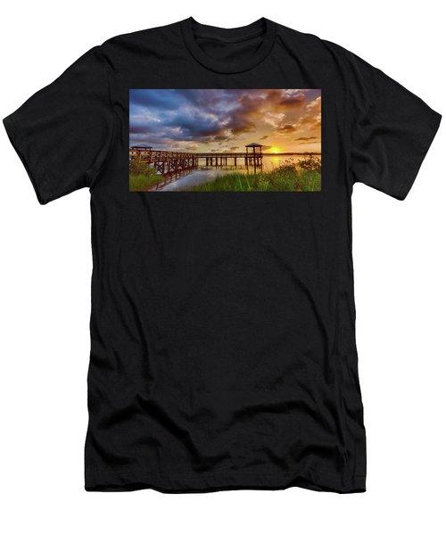 Bicentennial Sunset Men's T-Shirt (Athletic Fit)