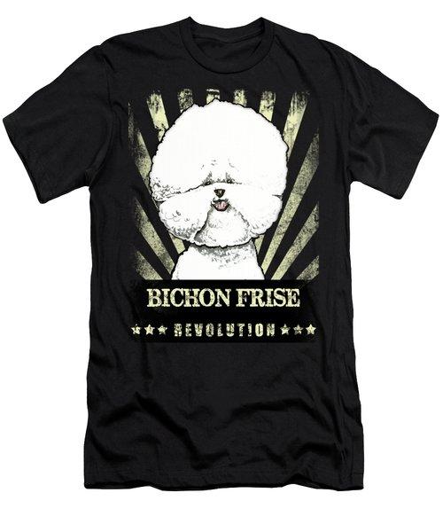 Bichon Frise Revolution Men's T-Shirt (Athletic Fit)