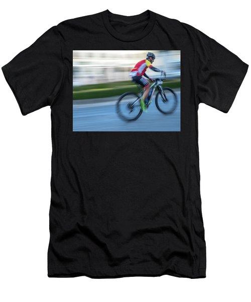 Bicycle Race Men's T-Shirt (Athletic Fit)