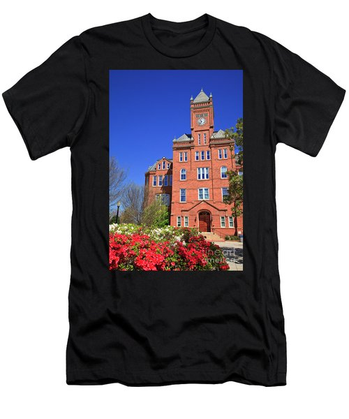 Biddle Hall In The Spring Men's T-Shirt (Athletic Fit)