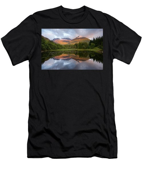 Bidean Nam Bian At Sunset Men's T-Shirt (Athletic Fit)